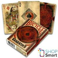 BICYCLE VINTAGE CLASSIC PLAYING CARDS DECK  MADE IN USA ORIGINAL AGED LOOK NEW