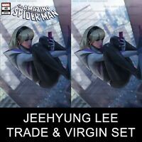 Amazing Spider-Man 48 Jeehyung Lee Spider-Gwen Virgin Variant Set 9/25 Preorder