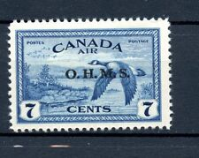 Canada MH Official #CO1 OHMS Overprint Airmail Canada Goose 1946 J013