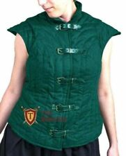 Medieval FEMALE VEST knight armor Jacket costumes Dress Gambeson Aketon SCA