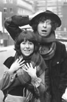 OLD DOCTOR WHO TV SERIES PHOTO British Actors Tom Baker And Elisabeth Sladen