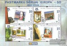 lettonie Bloc 21 (complète edition) neuf avec gomme originale 2006 Europe