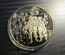 Rembrandt en zijn leerlingen - 30 mm FDC/UNC in capsule Uitgegeven door