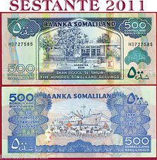SOMALILAND  -  500 SHILLINGS 2008  -  P 6g   -   FDS / UNC