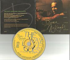 BRIAN McKNIGHT The way love goes w/ RARE EDIT PROMO DJ CD Single 1992 USA CDP 66