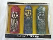 Vintage Christmas Norcross Heirloom We Three Kings Candles New old stock vtg