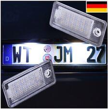 LED Kennzeichenbeleuchtung Audi A3 8P A4 B6 B7 A8 A6 4F Q7 SET [7301]