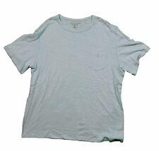 The Men's Store Polar Ice Blue Crewneck T-Shirt in XL