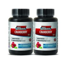 Cranberry 500 - Cranberry Extract 50:1 - Stomach Ulcer, Bladder Health Pills 2B