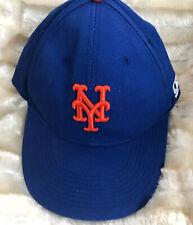New York Mets MLB OC Sports Hat Cap Royal Blue w/ Orange NY Logo Team Adjustable