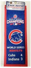 Chicago Cubs MLB Baseball 2016 World Series Champions Commemorative Mini Banner