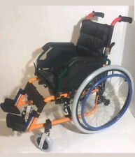 Kids Folding Wheelchair Fully Featured Lightweight Childs - Details in Pictures