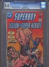 Superboy #240 Cgc 9.4 (1978) & Legion of Super-Heroes Only 3 Copies Higher