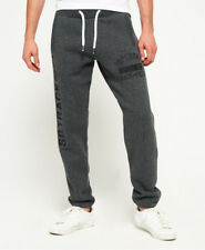 Mens Superdry Joggers M. With Tags. Trackster Jogger Charcoal Black Grit