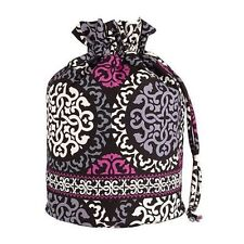 NWT Vera Bradley Ditty Bag in Canterberry Magenta everything bag 10132 149 JE
