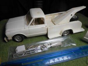 "Vintage MPC,1:25,Plastic Built ""72 Chevy Cheyenne Tow/Pickup Truck"" Rare/Nice.!!"