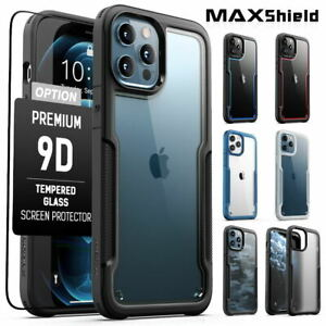 For iPhone 12 11 Pro XS Max Mini XR 8 7 Plus SE Case Shockproof Clear Slim Cover