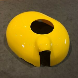 Abarth 500 Coolant Tank Cover Gloss Yellow Plastic Fiat 500 595 695 Esseesse