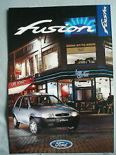 Ford Fiesta Fusion brochure May 1997