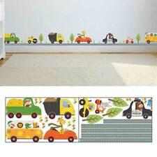 Animal Car Wall Stickers for kids Room Children Boy Bedroom .Wall Decals-D-Deko