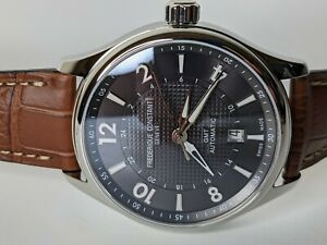 Frederique Constant Automatic Runabout GMT Watch FC-350RMG5B6 42mm