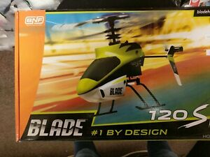 E-Flite Blade 120SR BNF (BLH3180) w/ Main (BLH3116) and Tail (BLH3117) Blade