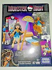 Monster High Cleo de Nile Mega Bloks Playset in box used only once
