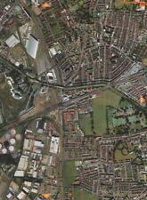 PLAISTOW E15 E16 E13. West Ham East London Cemetery 2000 old vintage map chart