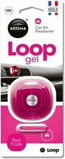 Aroma Loop Gel Vent Clip Car Air Fresheners Perfume France Red Fruits