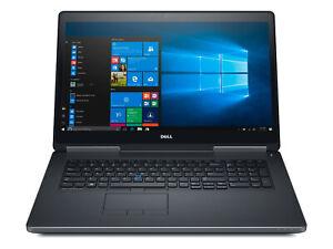 DELL Precision 7720 i7-7700HQ 4x2,8GHz 16GB 2x 512GB Quadro M1200 USB-C WIN10