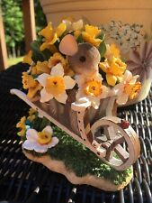 Charming Tails You're Over Flowing With Beauty Wheelbarrow Flowers
