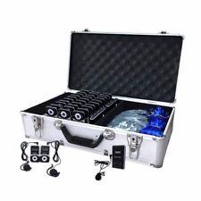 Kingele Tour Guide System translation systems W/ Aluminum charging case 2T30R
