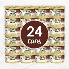 (24 Cans) Purina Fancy Feast Pate  Canned Wet Cat Food free shippiN