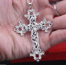 new Fashion 1pcs  925 Silver Cross Lovely Pendant Q110