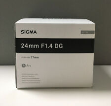 Nuevo Sigma 24mm F1.4 DG HSM Art Objetivos For Canon