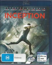 INCEPTION (Blu-ray+DVD +Digatal Copy) 4 Discs... Region B & 4