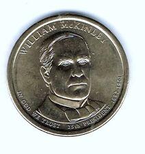 2013-D $1 William McKinley Brilliant Uncirculated 25th Presidential Dollar Coin!