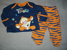 pyjama coton disney bebe tigrou taille naissance neuf