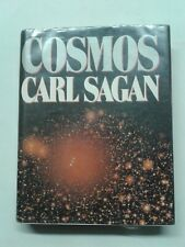 CARL SAGAN COSMOS 1980 RANDOM HOUSE HARDCOVER W/DUST JACKET ex lib