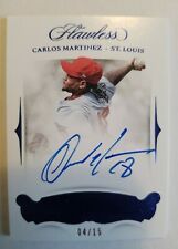 2018 Flawless Signatures Baseball Carlos Martinez Auto Autograph /15