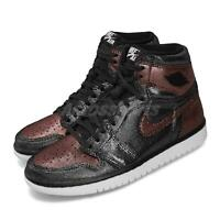 Nike Wmns Air Jordan 1 Hi OG Fearless Black Metallic Rose Gold Women CU6690-006