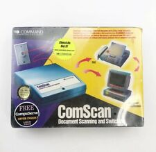 COMSCAN Document Scanning and Switching Command Communications New NIB