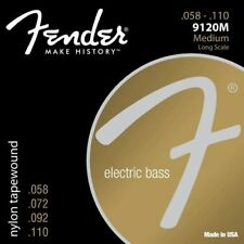 Fender Nylon Tapewound Bass 058-110 - 9120M Medium