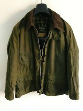 Mens Barbour Bedale wax jacket Green coat 40in size Medium / Large M/L #8