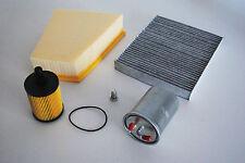 Inspektionspaket Inspektionskit Filterset VW Polo 9N 1,4l TDI 59KW 80PS Diesel
