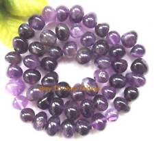 baroque 8-11mm natural amethyst gemstoen Beads 15""