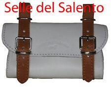 BORSELLO BICI PELLE BICICLETTA SOTTOSELLA RETRO VINTAGE Leather Tools Bags Bike