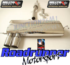 AUDI S3 EXHAUST 1.8T QUATTRO MILLTEK CAT BACK RESONATED QUIETER SSXAU121 NEW