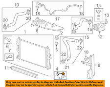 GM OEM-Radiator Lower Insulator 13304695