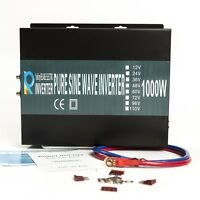 EMC CE approved 1000W Pure Sine Wave Solar Power Inverter 36V to 240V 50HZ